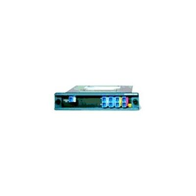 Cisco wave division multiplexer: Single-Fiber 4-Channel Multiplexer/Demultiplexer