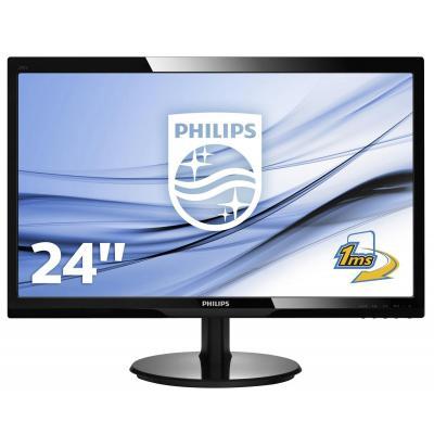 Philips monitor: LCD-monitor 246V5LHAB/00 - Zwart
