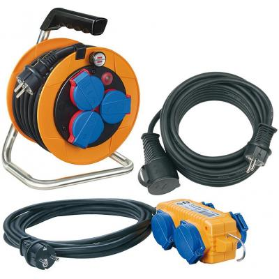 Brennenstuhl power extrention: Power-Pack-Set Cable Reel, 10m, H07RN-F 3G1,5/ Extension Cable, 10m, H07RN-F 3G1.5, .....