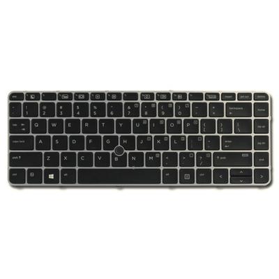 HP Backlit keyboard assembly (Netherlands) Notebook reserve-onderdeel - Zwart