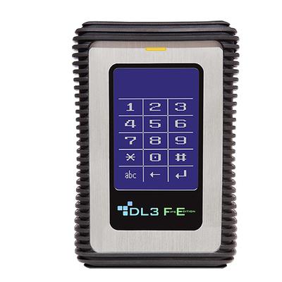 DataLocker DL3 FE Externe harde schijf - Zwart,Metallic