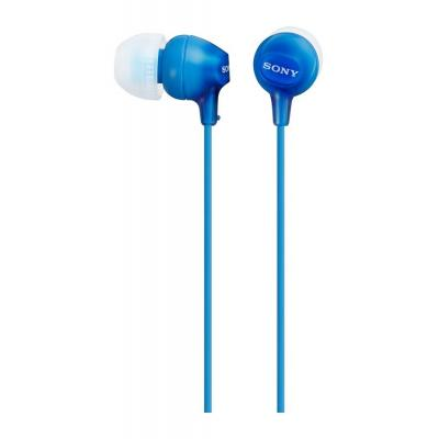 Sony headset: EX15AP In-ear Headphones - Blauw