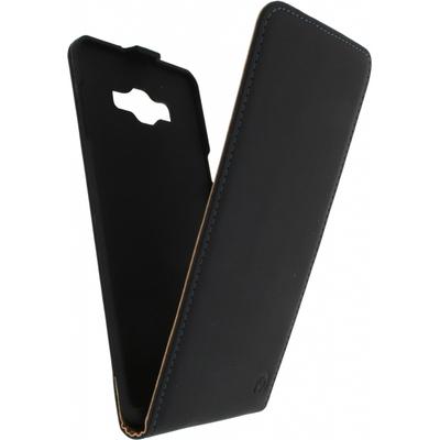 Mobilize Ultra Slim Flip Case voor Samsung Galaxy A7 - Zwart Mobile phone case