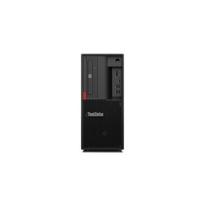 Lenovo pc: ThinkStation P330 - Zwart