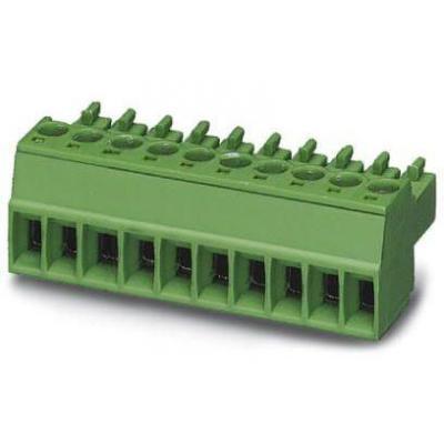 Phoenix Contact MC 1,5/3-ST-3,81 elektrische aansluitklem - Groen