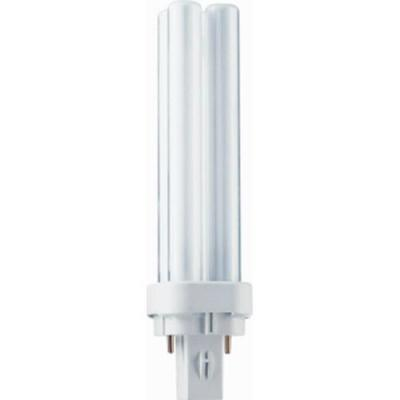 Philips lamp: MASTER PL-C 13W/830/2P 1CT - Wit