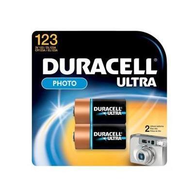 Duracell batterij: 2x CR17345 123