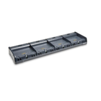 Intermec 4-Bay, Charging, Ethernet, w/o PS Barcodelezer accessoire - Zwart