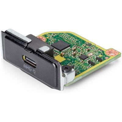 HP Type-C USB 3.1 Gen2 Port with 100W PD v2 Interfaceadapter - Zwart