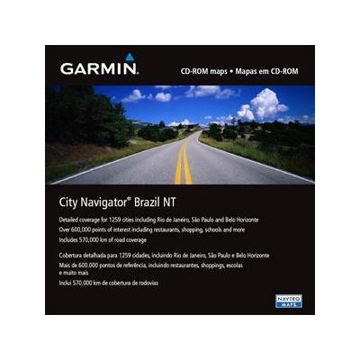 Garmin routeplanner: City Navigator Brazil NT - microSD™/SD™ card