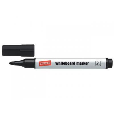 Staples markeerstift: Marker SPLS 8620 witbord zwart/doos 10