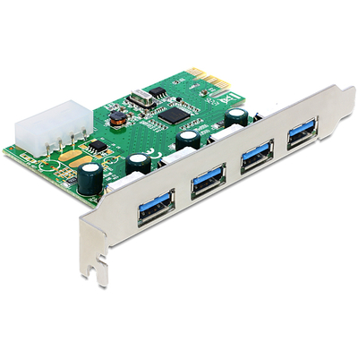 DeLOCK PCI Express Card > 4 x USB 3.0 Interfaceadapter