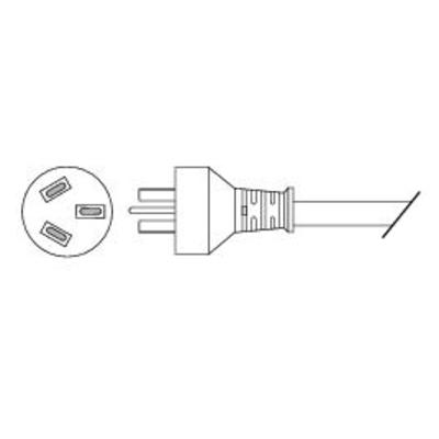 Cisco electriciteitssnoer: - Strmkabel - strm (han) - strm (hun)