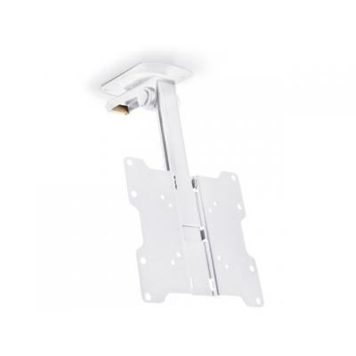 Multibrackets flat panel plafond steun: M VESA Flip Down - Wit