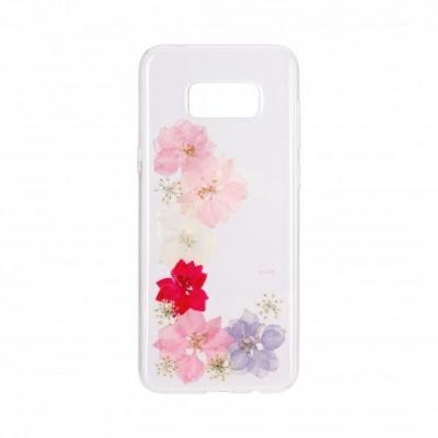 FLAVR iPlate Real Flower Grace Mobile phone case - Multi kleuren, Doorschijnend