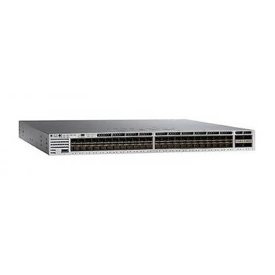 Cisco switch: Catalyst 3850-48XS-S - Zwart, Grijs
