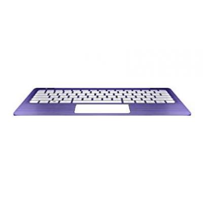 HP Top Cover & Keyboard (UK English) notebook reserve-onderdeel - Paars, Wit