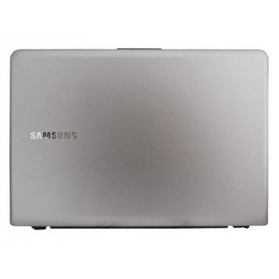 Samsung notebook reserve-onderdeel: LCD front cover bezel + LCD back cover - Grijs