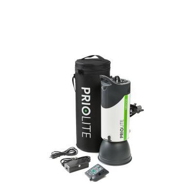 Priolite fotostudie-flits eenheid: Ultra2Go - Zwart, Grijs