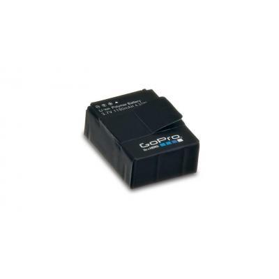 Gopro batterij: 1180mAh Li-ion - Zwart