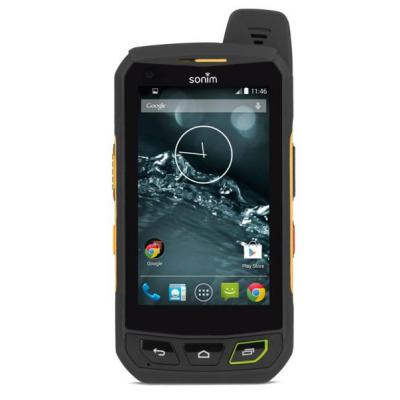 Sonim mobiele telefoon: Non-working Display Phone - Zwart, Geel