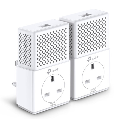 TP-LINK TL-PA7010P KIT Powerline adapter - Wit