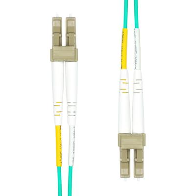 ProXtend LC-LC UPC OM3 Duplex MM Fiber Cable 0.5M Fiber optic kabel - Aqua-kleur