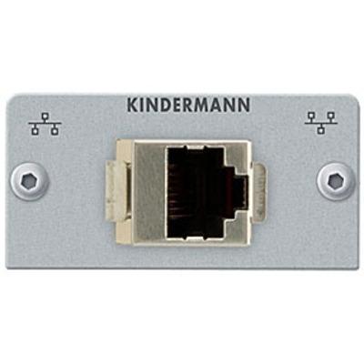Kindermann Adapter plate CAT 5 (RJ45) - Zilver