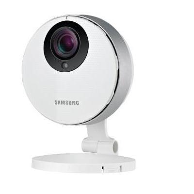 Samsung beveiligingscamera: 1080p Full HD WiFi IP Camera - Wit