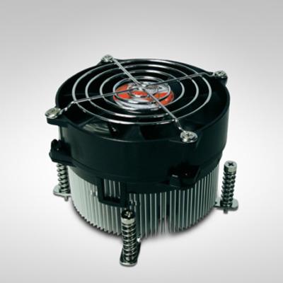 Inter-Tech K-987 Hardware koeling - Aluminium,Zwart