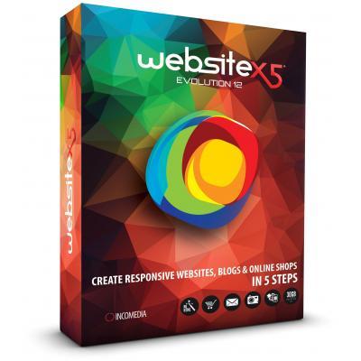 Incomedia software: WebSite X5 Evolution 12