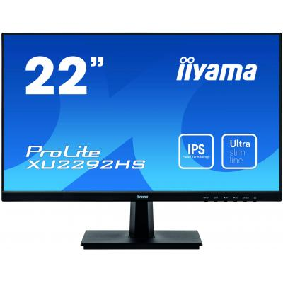 "Iiyama ProLite XU2292HS-B1 21,5"" Full HD IPS - Desktop monitor - Zwart"