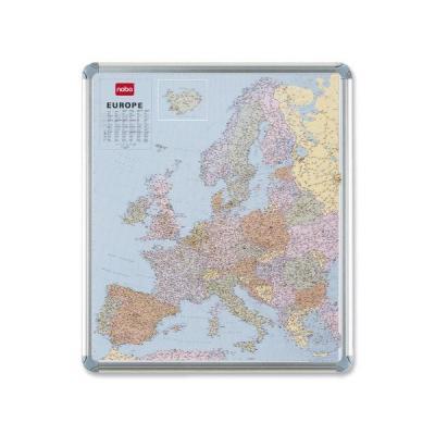 Nobo kaart: MAGNETIC EUROPA KAART - Multi kleuren