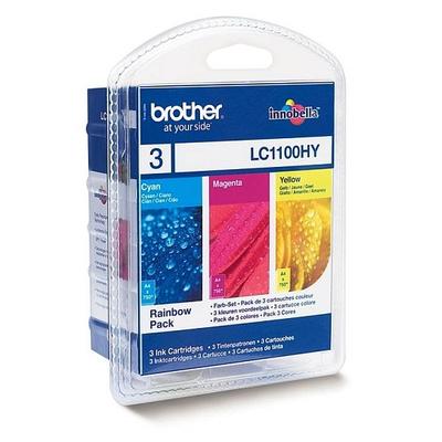 Brother LC-1100HYRBWBP inktcartridges