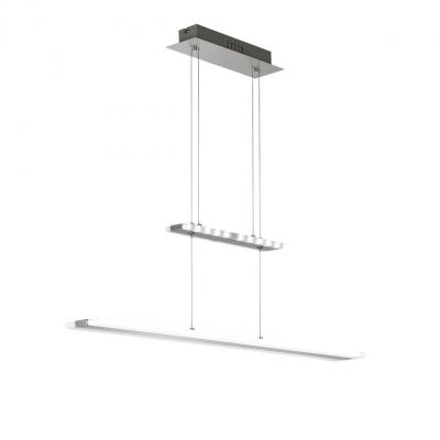 Wofi suspension lighting: MISSION - Chroom, Nikkel, Wit
