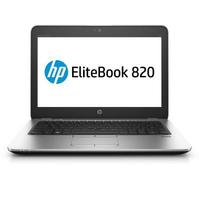 HP laptop: EliteBook EliteBook 820 G4 Notebook PC - Zwart, Zilver (Demo model)
