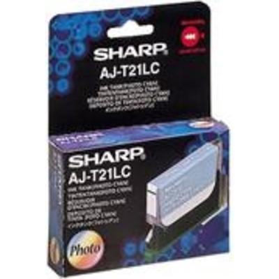 Sharp AJ-T21LC Inktcartridge - Foto cyaan