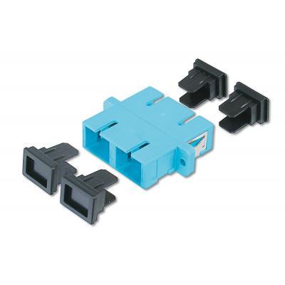 Assmann electronic fiber optic adapter: DN-96005-1 - Blauw