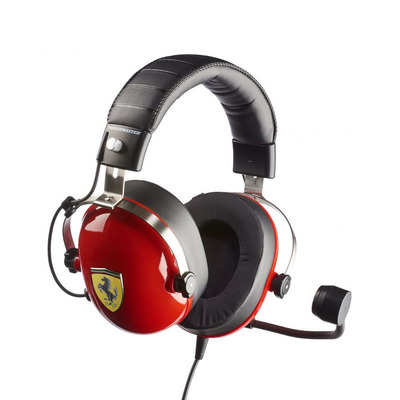 Thrustmaster New! T.Racing Scuderia Ferrari Edition Headset - Zwart, Rood