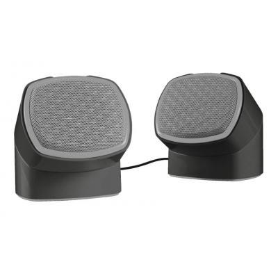 Trust draagbare luidspreker: Twizt Rotating 2.0 - Zwart