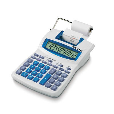 Rexel Ibico1214X Semiprofessionele Printrekenmachine Calculator