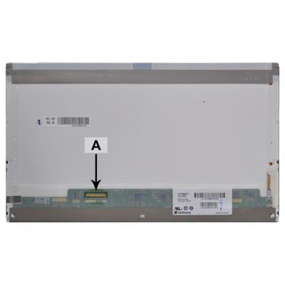 """2-power notebook reserve-onderdeel: 39.624 cm (15.6 """") , Full HD, 1920x1080, LED, 414g - Multi kleuren"""