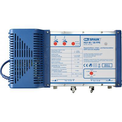 Spaun signaalversterker TV: HLV 40/30FPE - Blauw