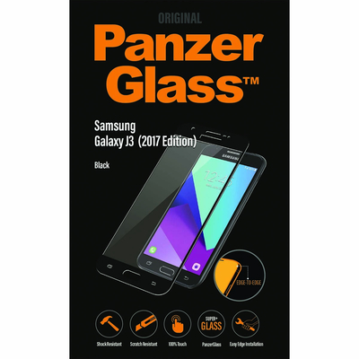 PanzerGlass Samsung Galaxy J3 2017 Edge-to-Edge Screen protector - Transparant