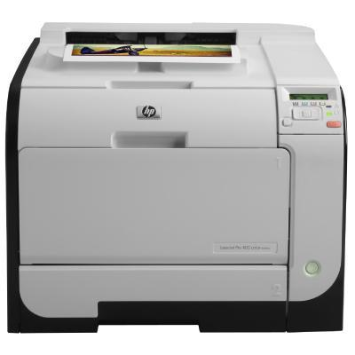 HP laserprinter: LaserJet M451dw - Zwart, Cyaan, Magenta, Geel