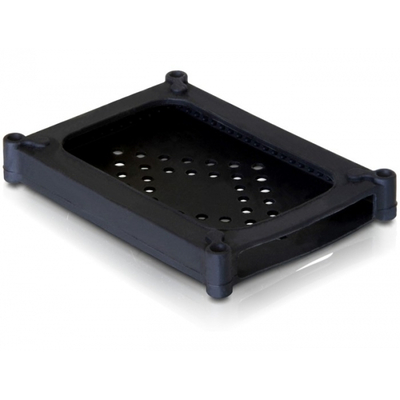 """DeLOCK HDD Protection Cover > 2.5"""" - Zwart"""