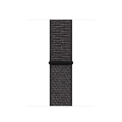Apple 40mm Black Nike Sport Loop horloge-band - Zwart