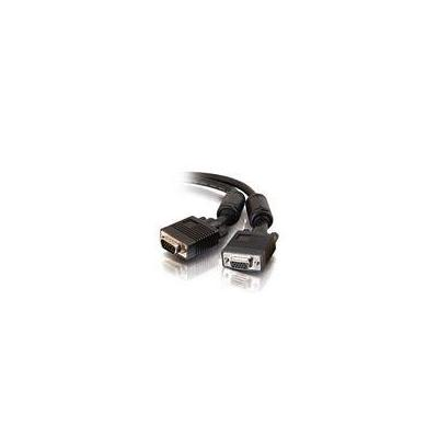 C2G Monitor HD15 M/F Cable, 15m VGA kabel  - Zwart