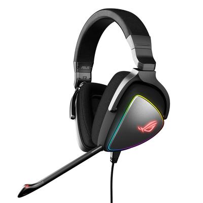 Asus headset: ROG Delta - Zwart