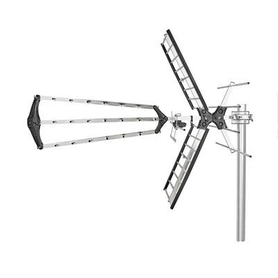 Nedis ANORUV10L8ME Antenne - Zilver, Zwart